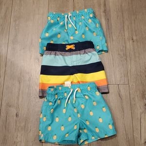 🐸 Boys Set of Swim Trunks